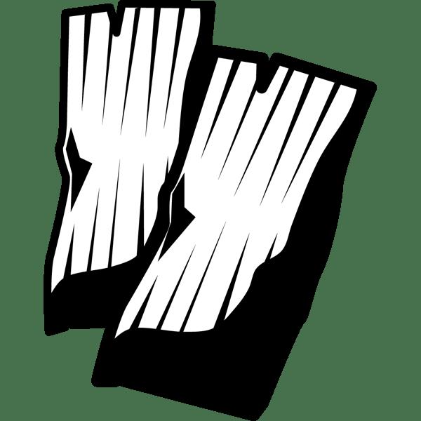 食品 昆布(海藻)(モノクロ)
