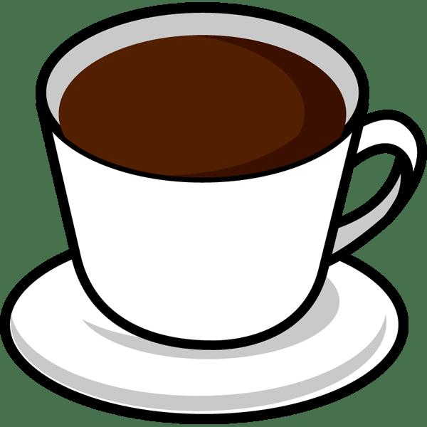 食品 コーヒーカラー 無料イラストpowerpointテンプレート配布