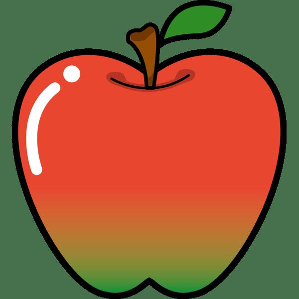 食品 りんご(カラー)