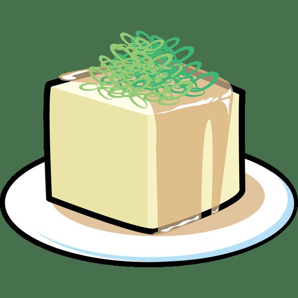 食品 冷奴(ひややっこ)(カラー)