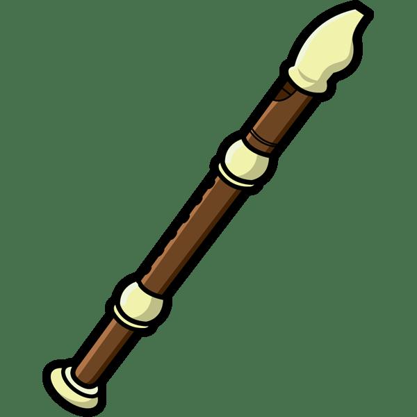 音楽 リコーダー(縦笛)(カラー)