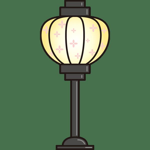 年中行事 雪洞(ぼんぼり)(カラー)