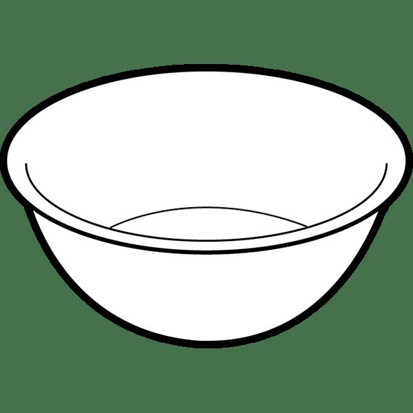 家庭・生活 ボール(モノクロ)