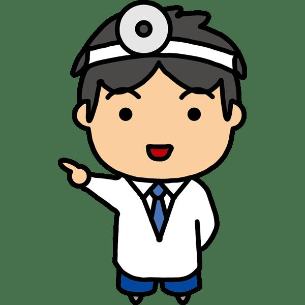 医療 医者 ドクター キャラクター風 カラー 無料イラスト Powerpointテンプレート配布サイト 素材工場