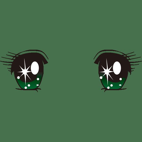 目少女漫画カラー 無料イラストpowerpointテンプレート配布