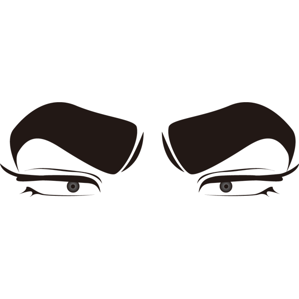 装飾 目(少年漫画)(カラー)