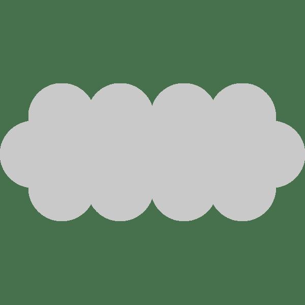 年中行事 曇り(くもり・雲)(カラー)