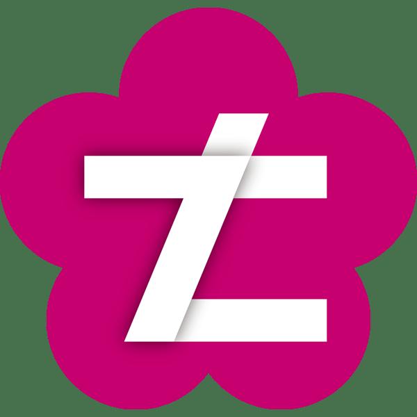 年中行事 七五三(ロゴ・七)(カラー)