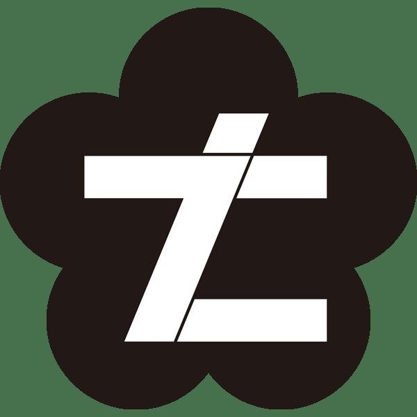 年中行事 七五三(ロゴ・七)(モノクロ)