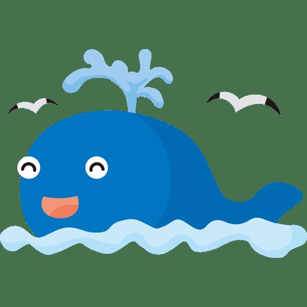 年中行事 クジラカラー 無料イラストpowerpointテンプレート配布