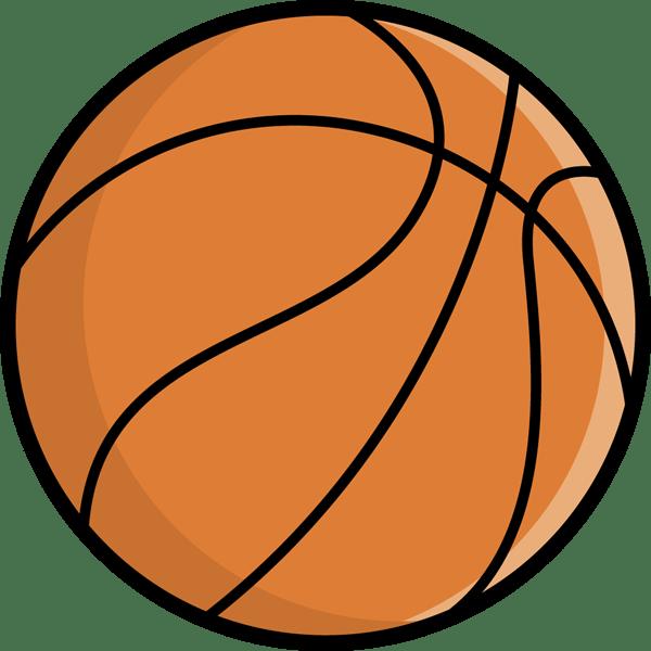 スポーツ バスケットボール(カラー)