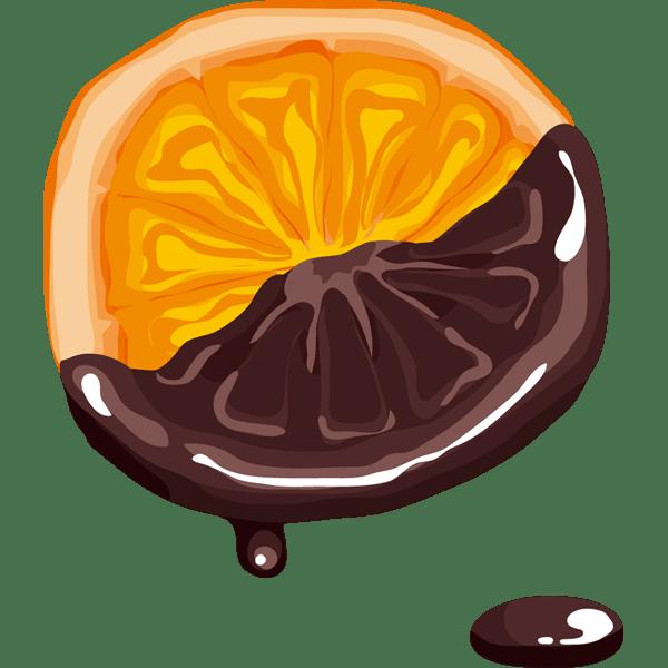 年中行事 チョコフォンデュ(オレンジ)(カラー)