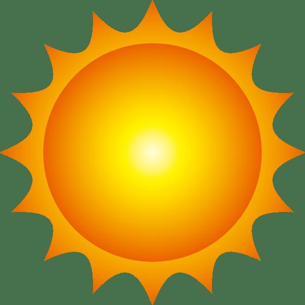 自然 晴れ(天気・太陽)(カラー) 無料イラスト・PowerPoint ...
