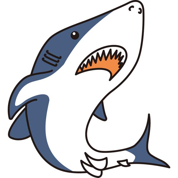 イラスト サメ