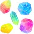 宝石セット(水彩)