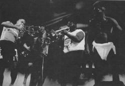New Funk Times 3 (1990): P.Funk Horns/Garry Shider (Photo: Peter Jebsen / All rights reserved)