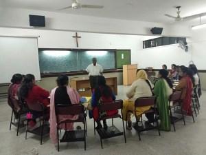 Joseph Rathinam teaching fem. teachers 300x225 - Politics From Below - The Neighbourhood-Parliament Concept, ONLINE 1st Sep.
