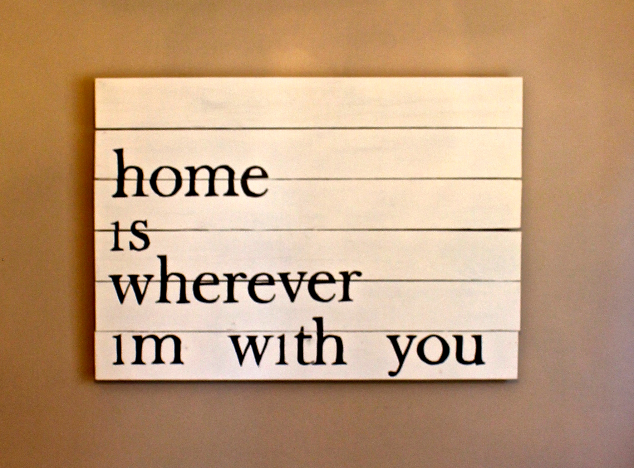 home wherever with you gift love