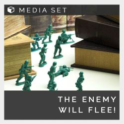 Enemy will flee