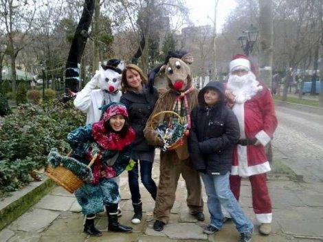 Дядо Коледа и късметите