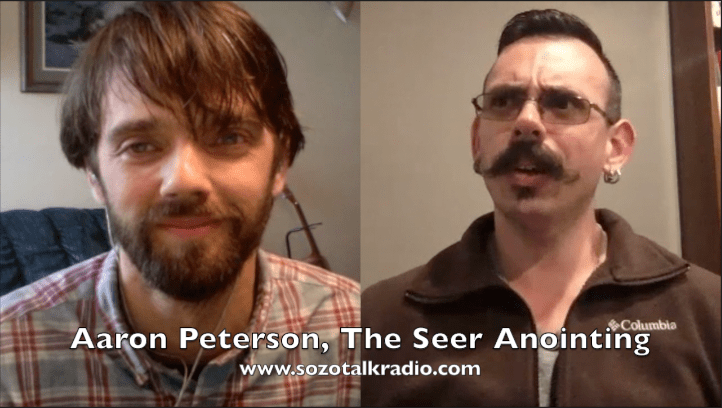 Aaron Peterson, the Seer Anointing