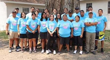 21 Native Americans Give their Lives to Jesus Christ for Summer of Hope 2021