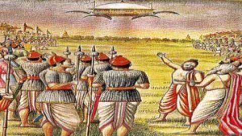 Manuscrito de 6000 anos revela que fomos visitados por OVNIs