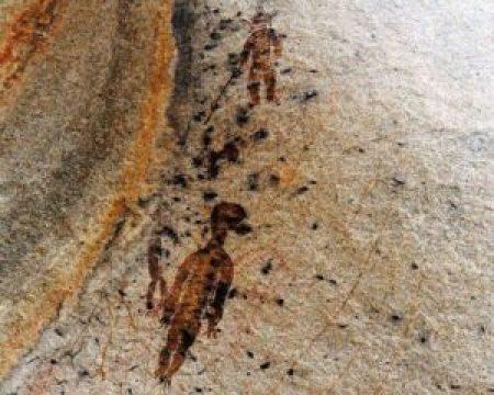 Pinturas rupestres de 10.000 anos encontradas na Índia