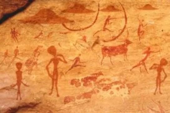 Visitantes antigos da Índia