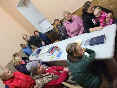 Churches Grow and Continue to Minister in Ukraine War Zone