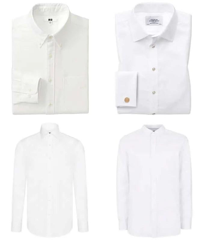 the best white shirt styles for men