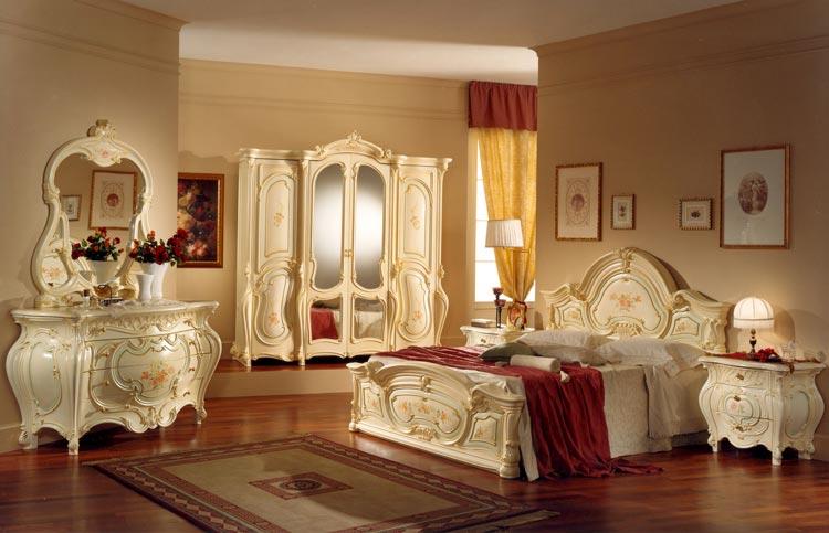 Exclusive Komplett Luxus Schlafzimmer Barocco Art Epoque