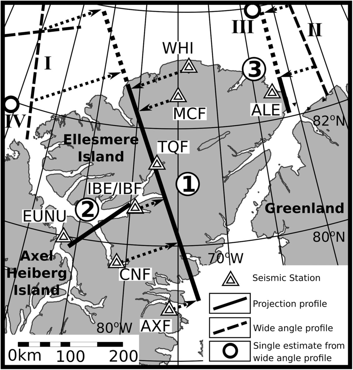 hight resolution of regional crustal architecture of ellesmere island arctic canada earth system geosphere hr diagram earth science