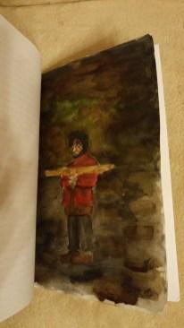 Ilustracja z książki Mai Durbajło z 6a (II miejsce)