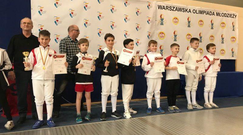 Marcin złotym medalistą Warszawskiej Olimpiady Młodzieży!