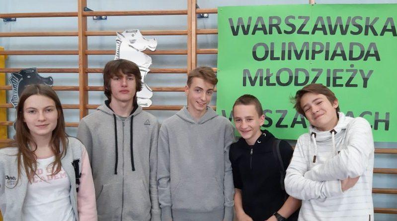 Warszawska Olimpiada Młodzieży w szachach
