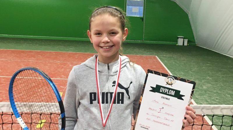 Kolejna wygrania Ani w turnieju tenisowym!