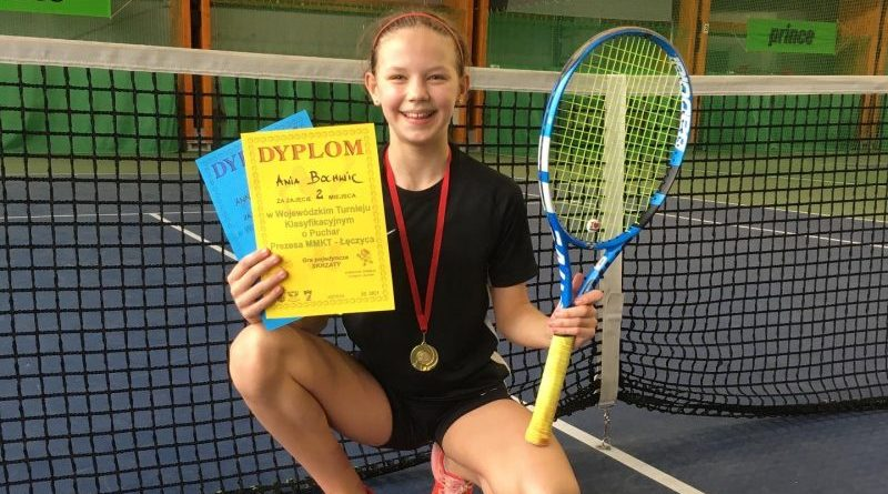Ania z kolejnymi sukcesami w tenisie!
