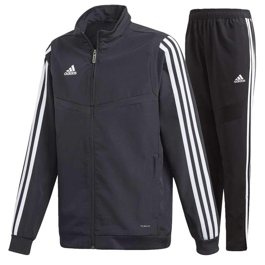 Adidas Trainingsanzug Schwarz Neongrün