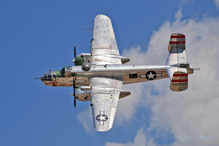 Panchito B-25 Mitchell Guns