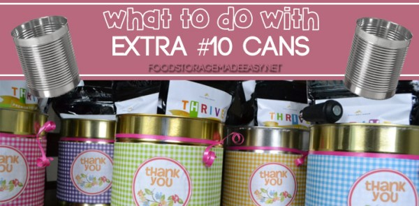 Extra #10 Cans