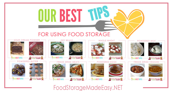 Our Best Tips for Using Food Storage