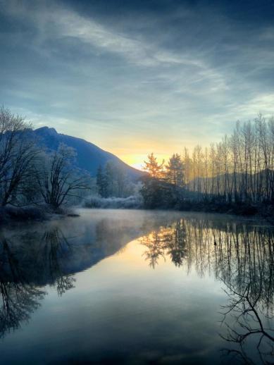 November 21st sunrise. Photo by Rana Hoover