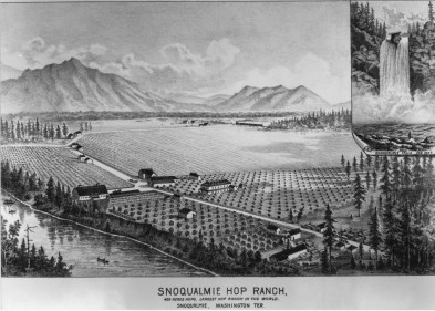 Snoqualmie Hop Ranch - 1889