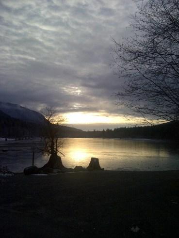 Rattlesnake Lake, 1/13/13 by Anna- Marie Furulie