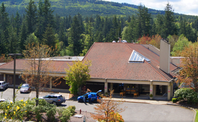 Current Snoqualmie Valley Hospital located off North Bend Way