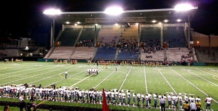 Start of Mount Si vs. O'Dea state playoff game, 11/15/2013.  Photo: Facebook