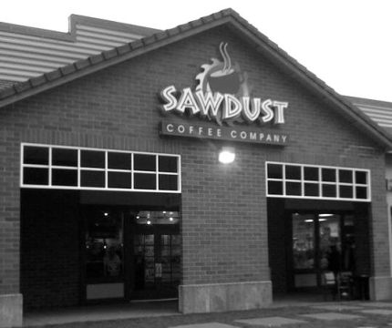 Hot Topic store will soon occupy the former home of Sawdust Coffee at the North Bend Premium Outlets - May 28, 2014.