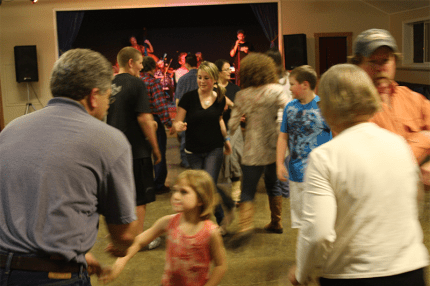 Contra dancing. Photo: Sallal Grange website