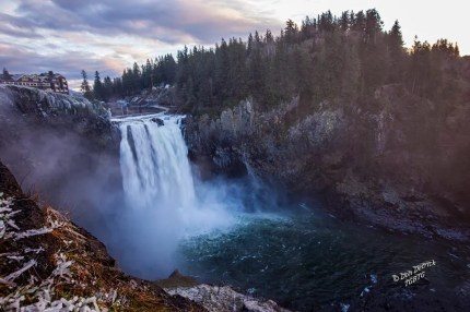 Snoqualmie Falls, December 2014. Photo by Don Detrick.